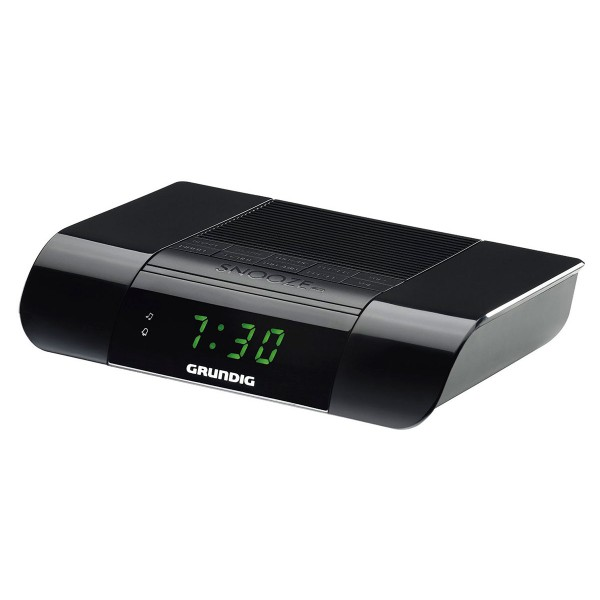 Grundig ksc 35 negro radio despertador con radio fm con sonido extra-fuerte