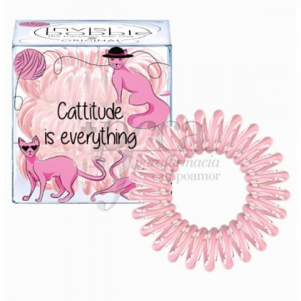 INVISIBOBBLE ORIGINAL CATTITIDE 3U ROSA