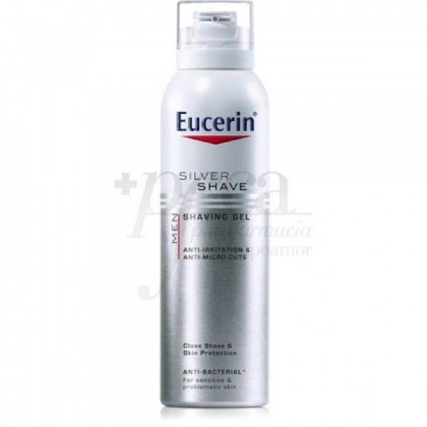 EUCERIN Men Gel de Afeitar 150 ml .