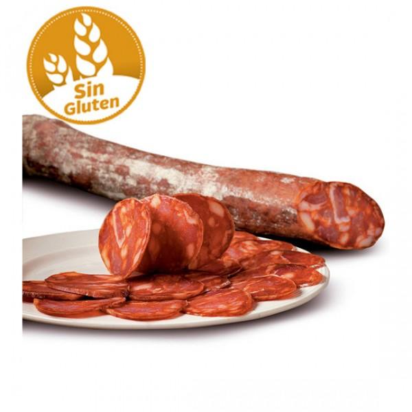 Chorizo extra producción ecológica sin gluten y sin lactosa (vacío 100 gr.)