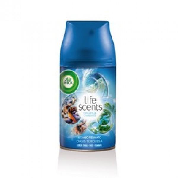 Air wick freshmatic recambio max-life scents oasis turquesa 250 ml
