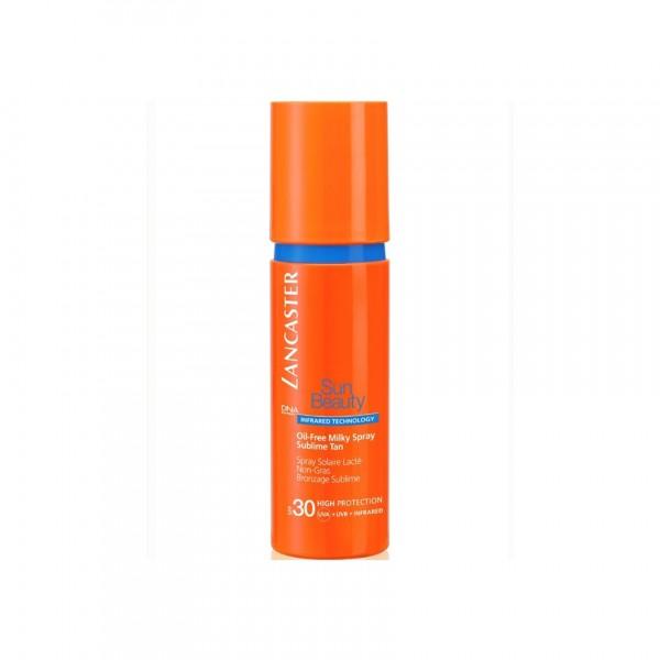 Lancaster sun beauty oil free milky spray spf30 150ml