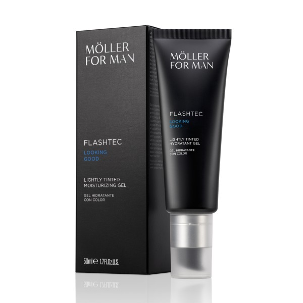 Anne moller for man flashtec looking good lightly tinted moisturizing 50ml