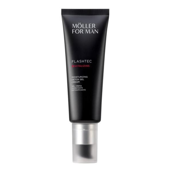 Anne moller for man flashtec revitalizing detox gel crema 50ml