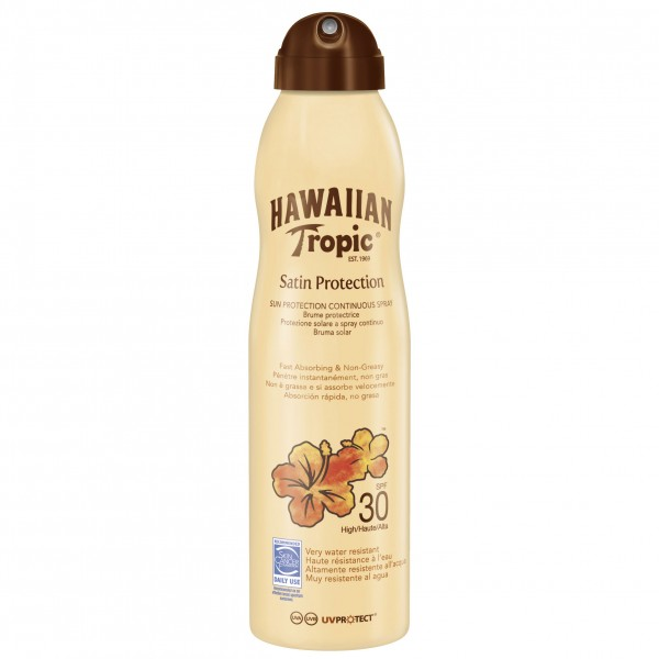 Hawaiian tropic satin protection ultra radiance sun locion spf30 220ml