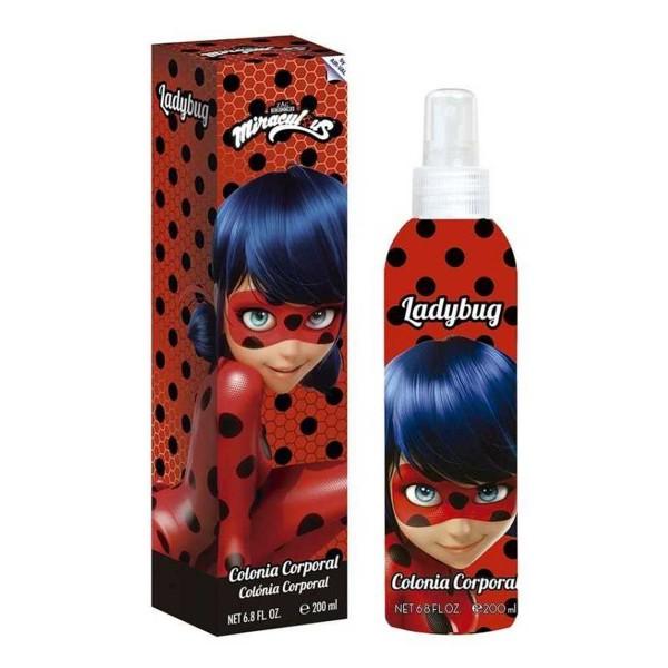 Disney ladybug colonia corporal 200ml vaporizador