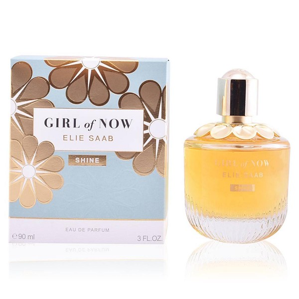 Elie saab girl of now shine eau de parfum 90ml vaporizador
