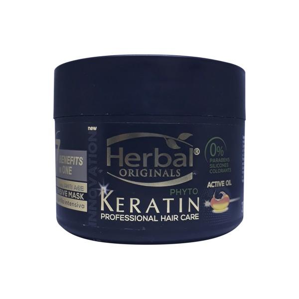 Herbal hispania originals phyto-keratin mascarilla 7 benefits in one bb cream an 300ml