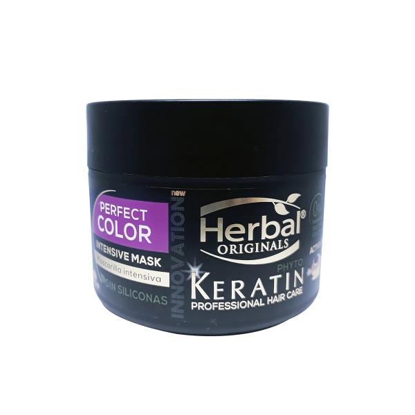 Herbal originals phyto keratin professional hair care perfect color intensive mascarilla 300ml