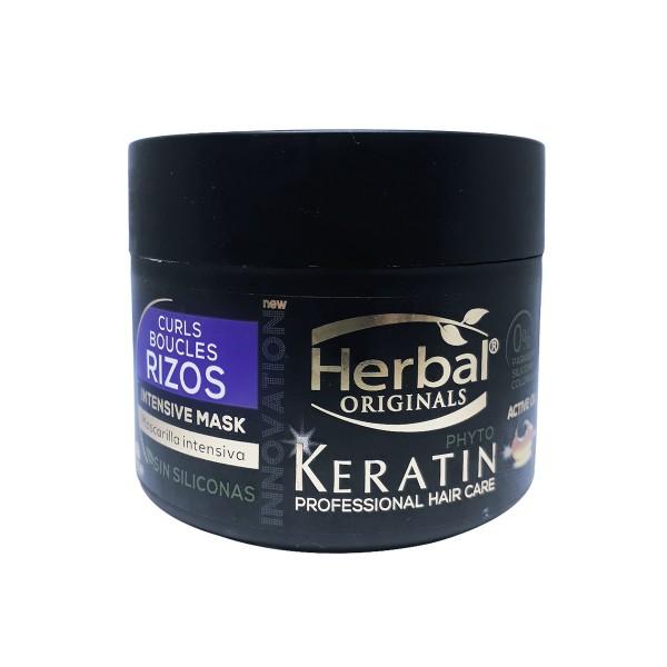 Herbal originals phyto keratin professional hair care rizos intensive mascarilla 300ml