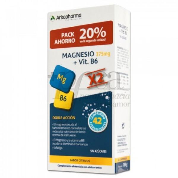 ARKOVITAL MAGNESIO + VIT B6 2X 21 COMPS PROMO