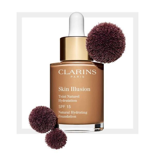 Clarins skin illusion spf15 foundation 114 capucchino 30ml