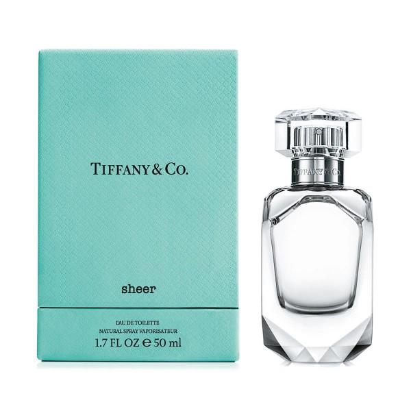 Tiffany's sheer eau de toilette 50ml vaporizador