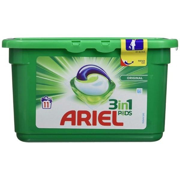 ARIEL Detergente Tabs 3in1 11 dosis