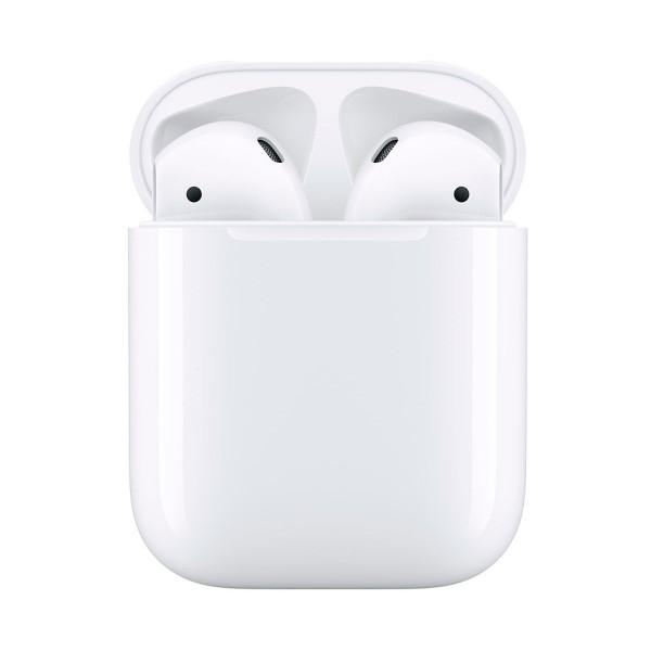 Apple airpods mv7n2ty/a auriculares inalámbricos de alta calidad acceso directo a siri chip w1 más de 24 horas de autonomía para iphone ipad e ipod