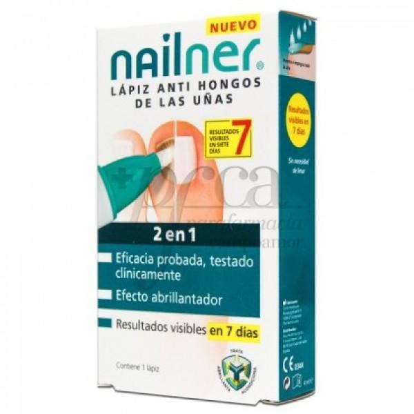 NAILNER LAPIZ ANTI HONGOS DE LAS UÑAS 2EN1 4 ML