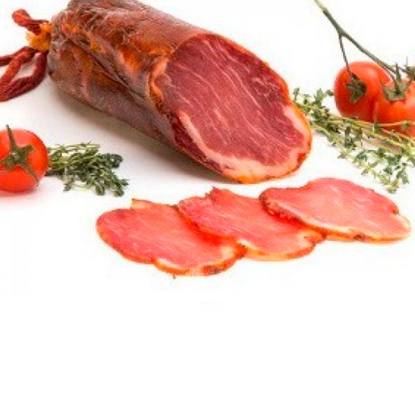 Lomo Curado con  Especias de Prod. Eco. pieza sin gluten/sin lactosa 100 grs.