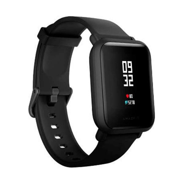 Xiaomi amazfit bip lite negro smartwatch 1.28'' táctil gps glonass bluetooth pulsómetro notificaciones inteligentes