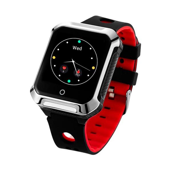 Muvit miosmw014 sos health senior rojo reloj localizador gps con botón de sos