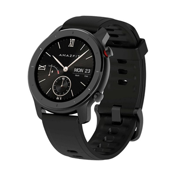Xiaomi amazfit gtr lite smartwatch negro 1.2'' 42.6mm amoled gps bluetooth 24h de autonomía