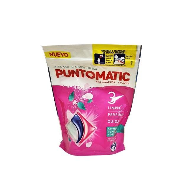 Puntomatic detergente ropa blanca y de color 10 u