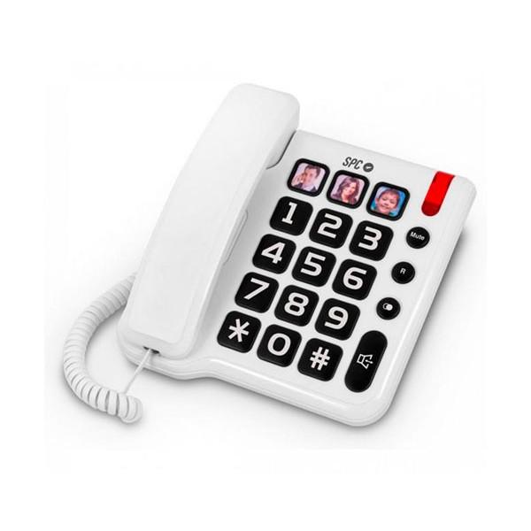 Spc telecom 3294b comfort numbers teléfono fijo