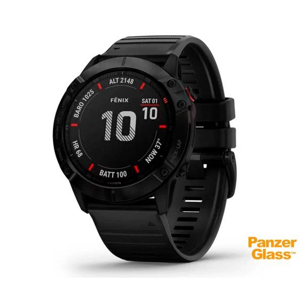 Garmin fénix 6x pro negro con correa negra 51mm smartwatch premium multideporte gps integrado wifi bluetooth