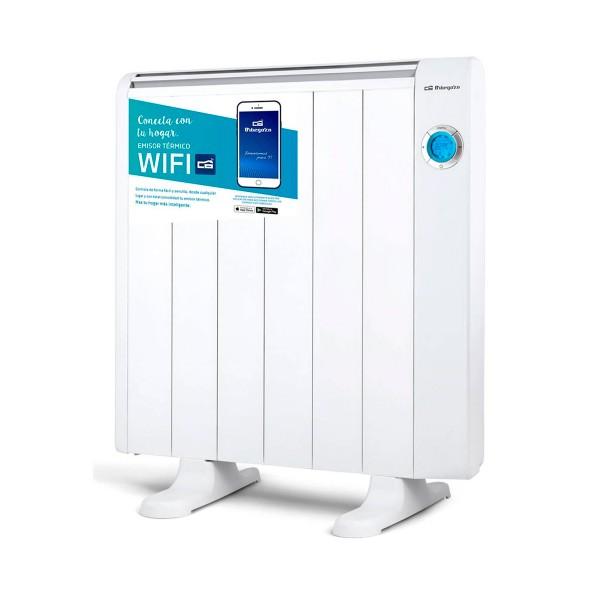 Orbegozo rrw-1200 blanco emisor térmico 1200w control por wifi y por voz