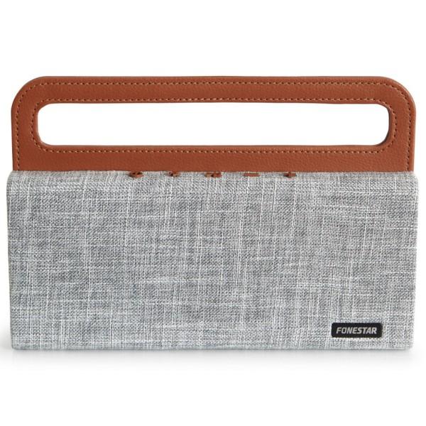 Fonestar handy-g tela gris altavoz portatil bluetooth 12w tws bateria manos libres