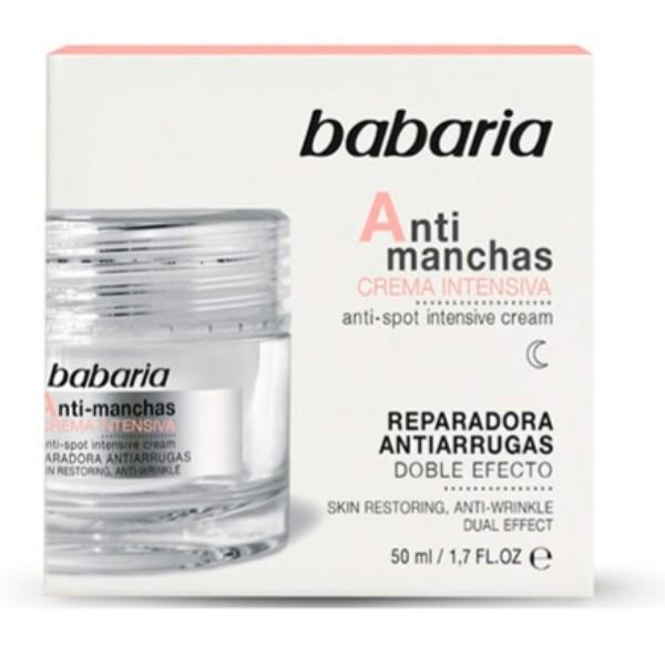 Babaria crema de noche Antimanchas 50 ml