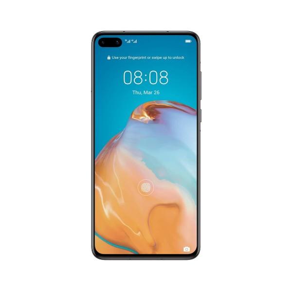 Huawei p40 negro móvil 5g dual sim 6.1'' oled fhd+/8core/128gb/8gb ram/50mp+8mp+16mp/32mp
