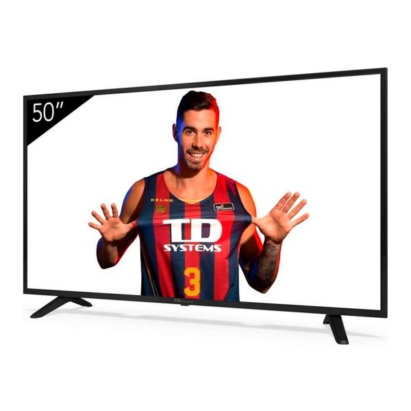 Td systems k50dlj11us televisor 50'' lcd direct led 4k hdmi usb ci+ dolby digital plus