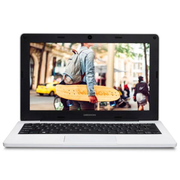 Medion e11201 education blanco portátil 11.6'' hd cel-n3450 64gb emmc 4gb ram windows 10 pro education