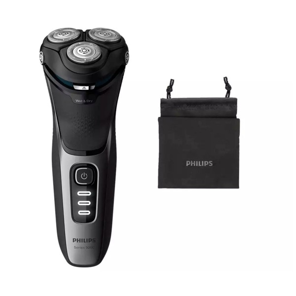 Philips s3231/52 afeitadora eléctrica shaver series 3000 en seco o húmedo powercut