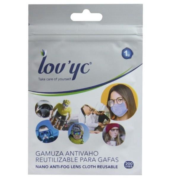 Lov'yc gamuza antivaho para gafas 200 usos