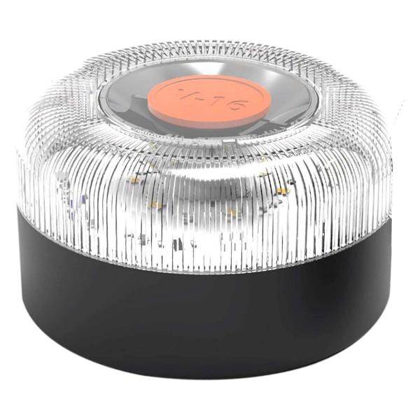 Balizauto luz de emergencia homologada dgt autónoma señal 16v de preseñalización de peligro