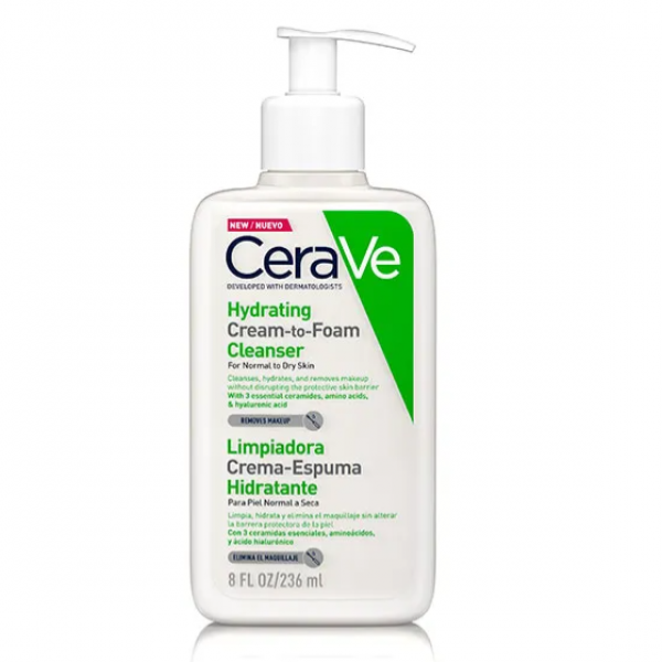 CERAVE LIMPIADOR CREMA HIDRATANTE 236 ML